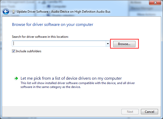 Updating the drivers on your windows pc
