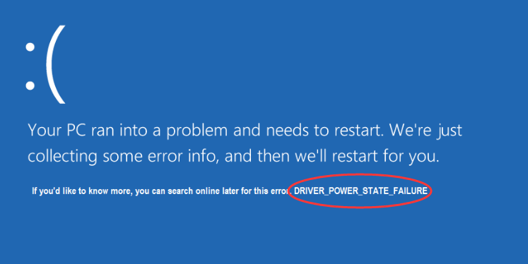 How to Fix Driver Power State Failure on Windows 10 - Driver