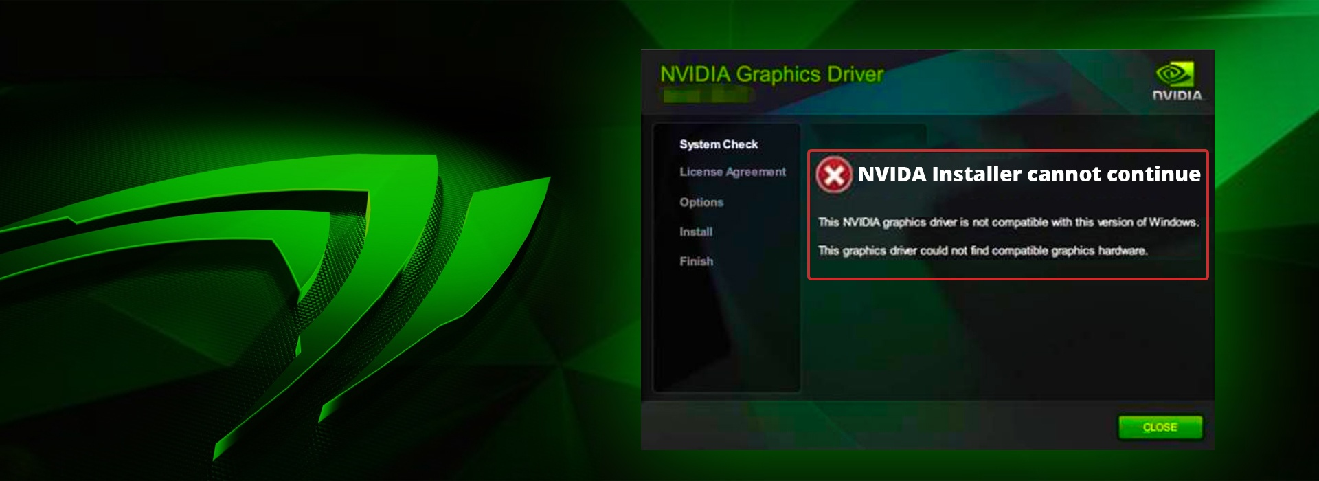 Solved] GeForce GTX 1080 Drivers Not Compatible with Windows