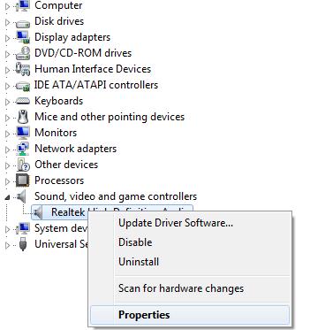 pilote audio dolby digital plus 7.5.1.1