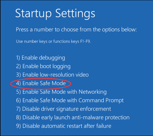 How to Enter Windows 10 Safe Mode When You Can't Boot