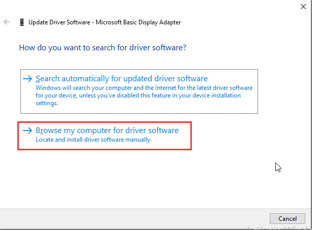 how to fix intel graphics driver error