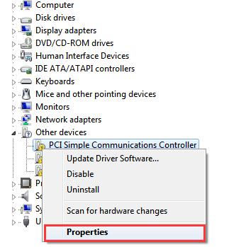 Easily Fix PCI Simple Communications Controller Driver Error