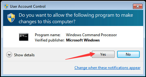 elevated command prompt windows xp
