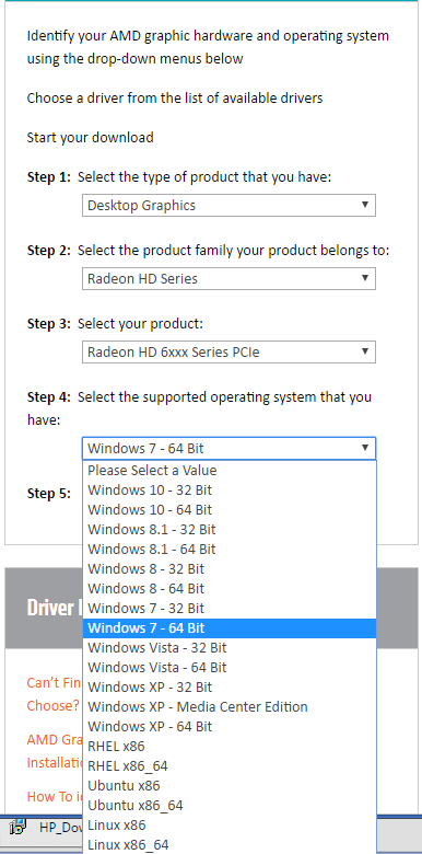 Radeon hd drivers amd 6470m