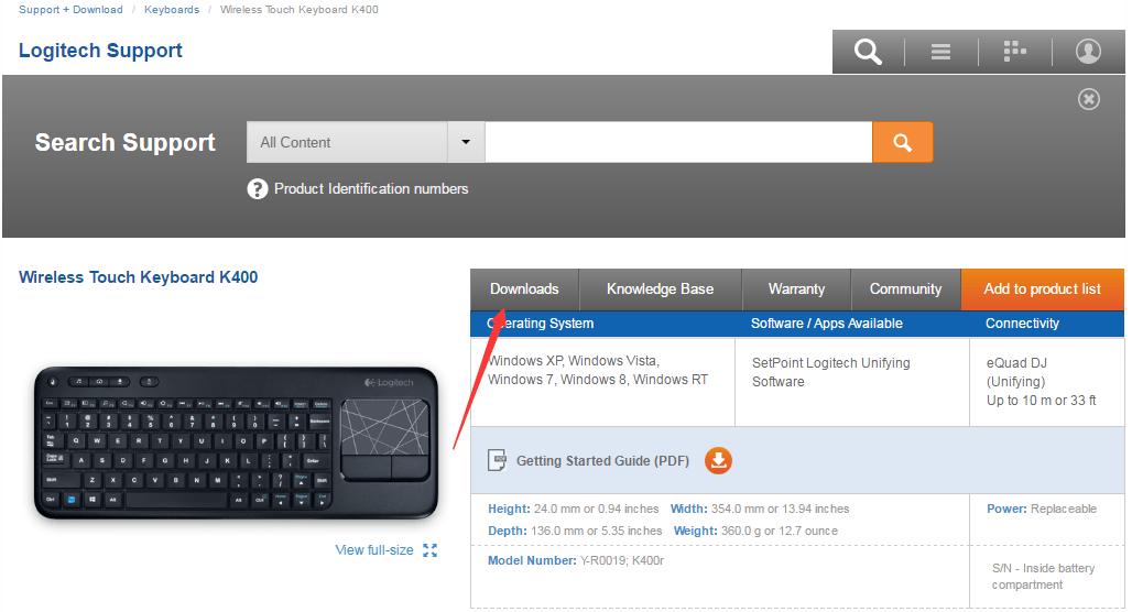 Logitech Wireless Keyboard Driver for Windows 10 Download Easily