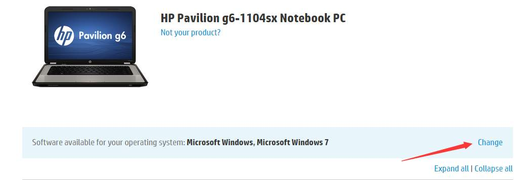 pavilion g6 drivers windows 7