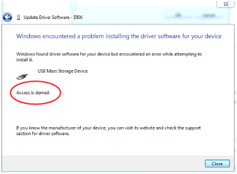 Fix USB not Installing Issue: Access is denied - Driver Easy