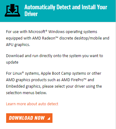 amd high definition audio bus driver windows 10