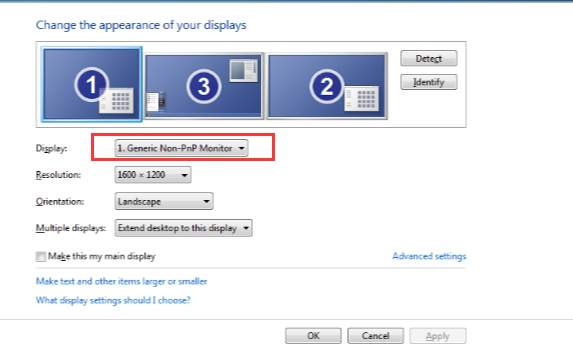 display driver problem windows 7