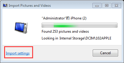Simplest Way to Import Photos from iPhone to Windows 7