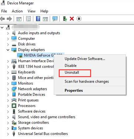 Solved] NVIDIA Code 43: Windows has stopped this device because it
