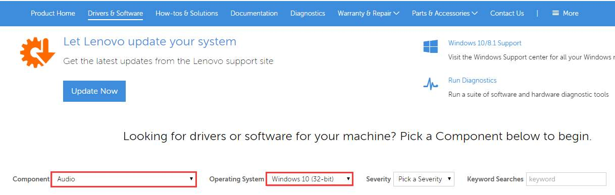 Update Lenovo Audio Drivers in Windows 10  Easily! - Driver Easy