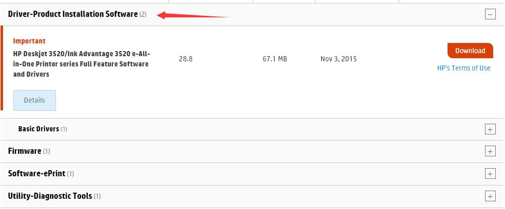 hp deskjet 3520 instructions