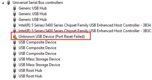 How to fix the usb root hub power management issue in windows 7.