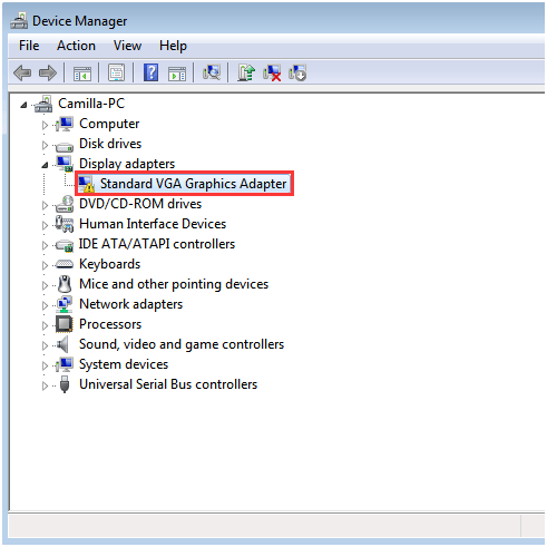 driver controlador video compativel vga gratis