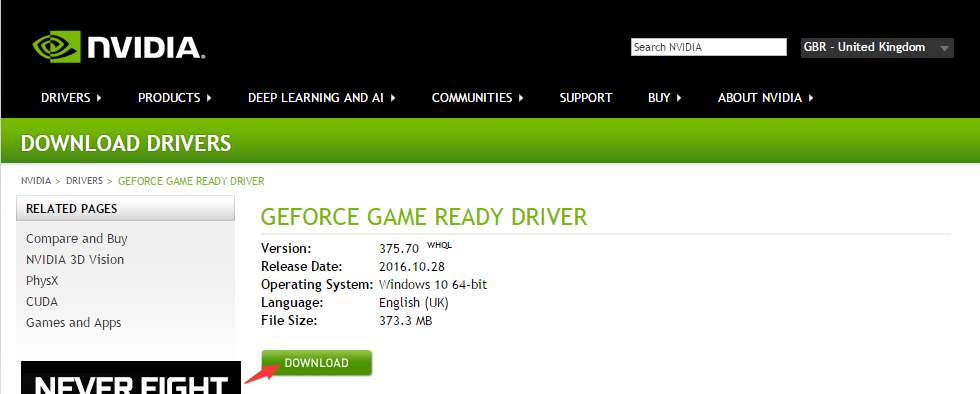 NVIDIA 1080 Drivers Download for Windows 10  Easily