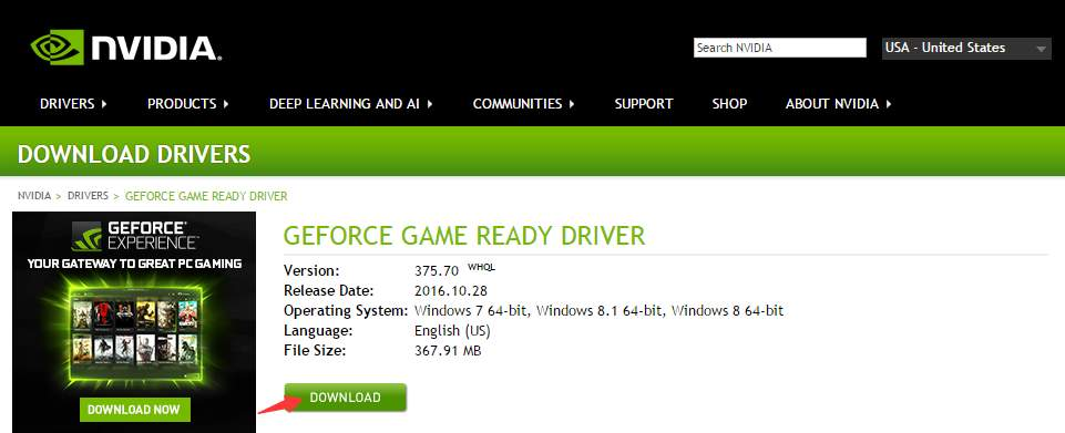 Latest video card driver updates for windows (and beta drivers).