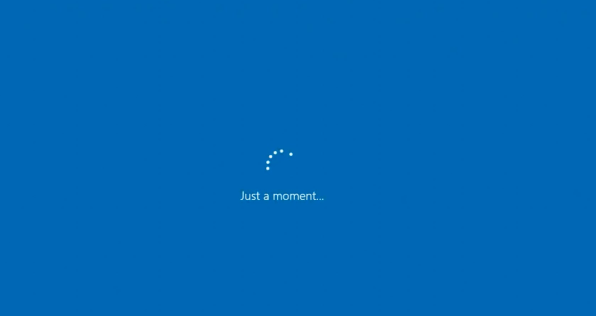 Windows 10 Install Stuck at Just a moment Loop [Fixed