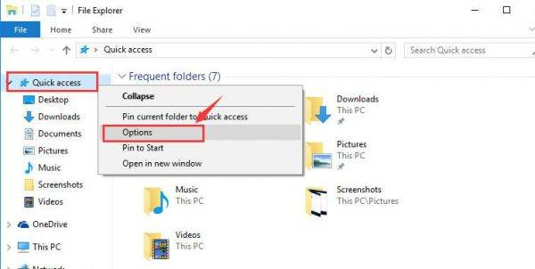 File explorer not responding