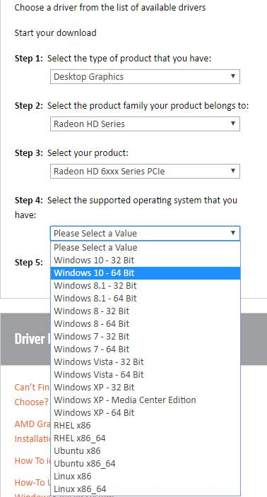 AMD Radeon HD Graphics Drivers for Windows 10 - Driver Easy