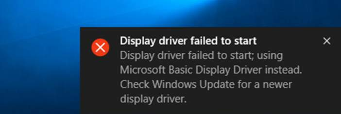 Solved] Display driver failed to start in Windows 10 - Driver Easy