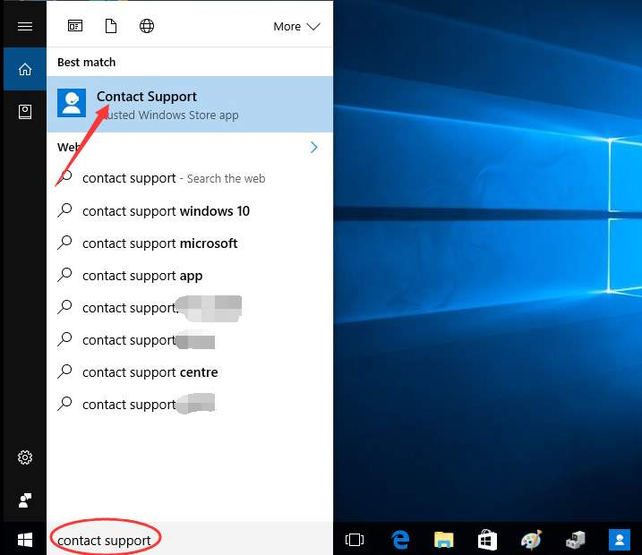 how to get help using windows 10 contact support app