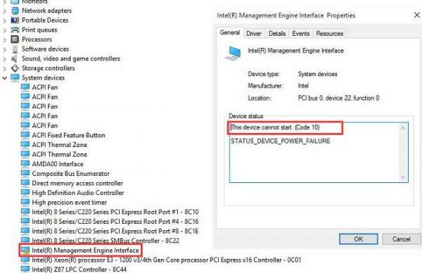 Dell XPS One Intel Management Engine Interface Drivers for Windows XP