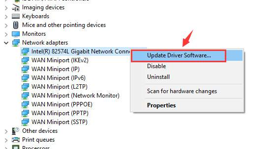 Solved] The default gateway is not available - Driver Easy