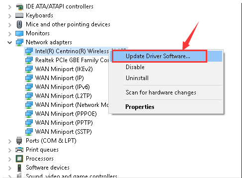WAN MINIPORT SSTP DRIVER WINDOWS XP