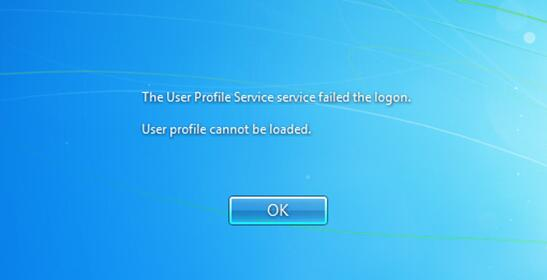 Fix: The User Profile Service service failed the logon