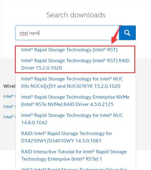 Intel Rapid Storage Technology Driver Download & Update