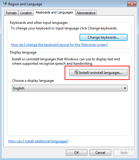 How to Change System Language of Windows 7 - Driver Easy