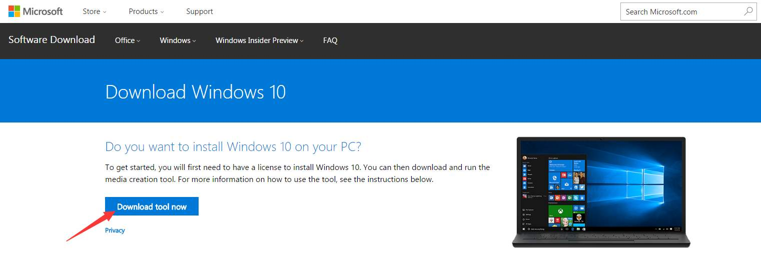 download windows 10 .iso file