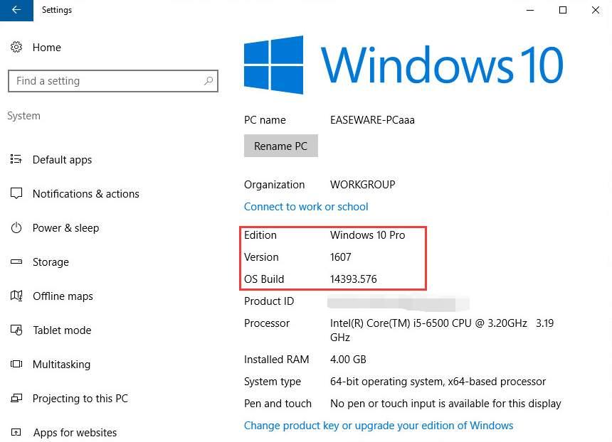 Windows 10 check ipo
