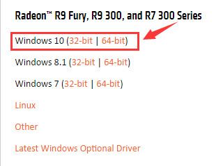 AMD Radeon R9 360 Graphics Driver Download & Update on Windows 10