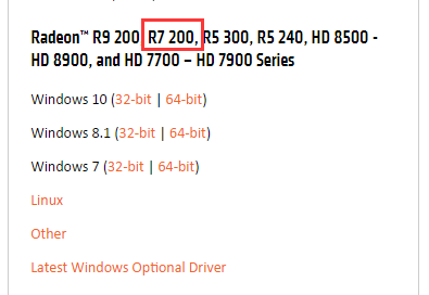 r7 240 drivers windows 10