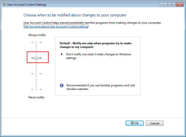 App can't open using Built-in Administrator Account [Solved