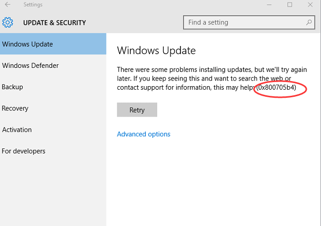 Windows Update Fixit >> 0x800705b4 Error In Windows Update In Windows 10 Solved Driver Easy