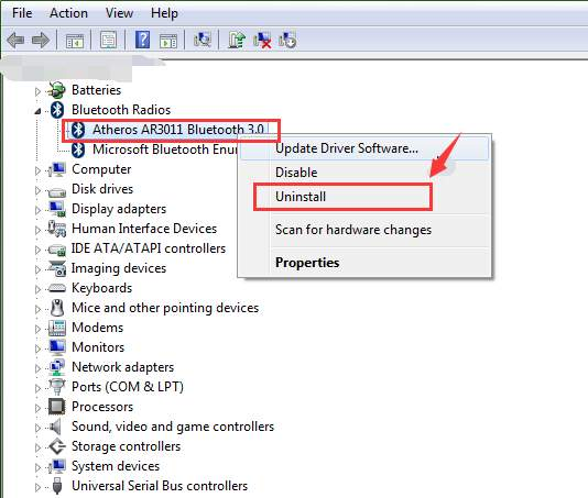 Qualcomm Atheros Bluetooth Driver Not Working on Windows 10 [Solved