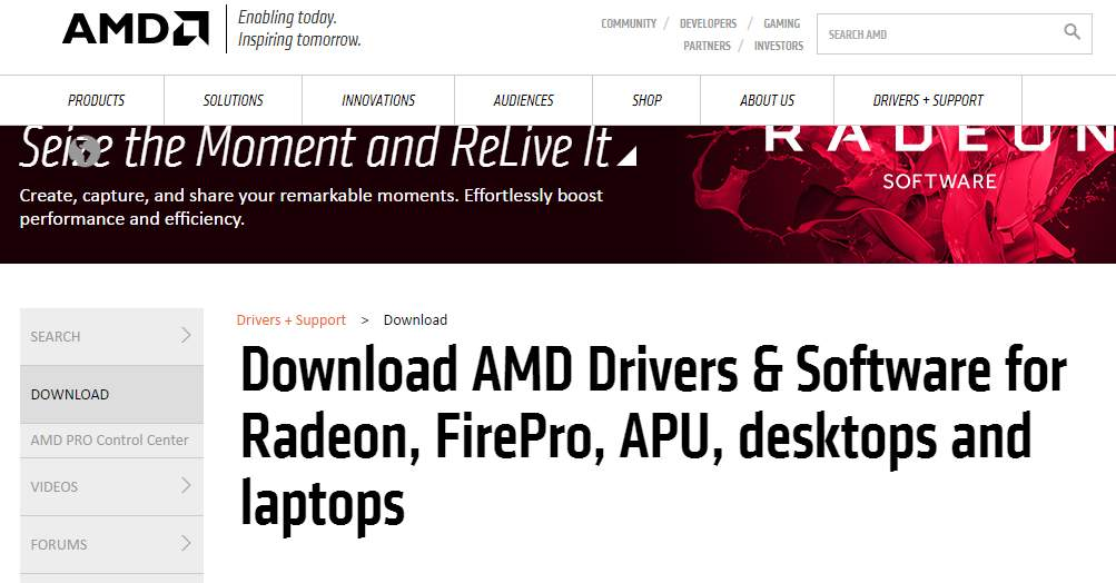 Amd Radeon Hd 6320 Graphics Driver Download Windows 10