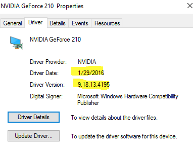 NVIDIA GeForce 210 Drivers Update for Windows 10 - Driver Easy