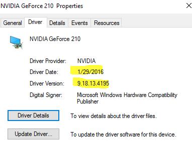 geforce 210 drivers linux
