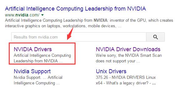 nvidia drivers 210 64 bit