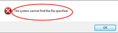 The system cannot find the file specified [Solved] - Driver Easy