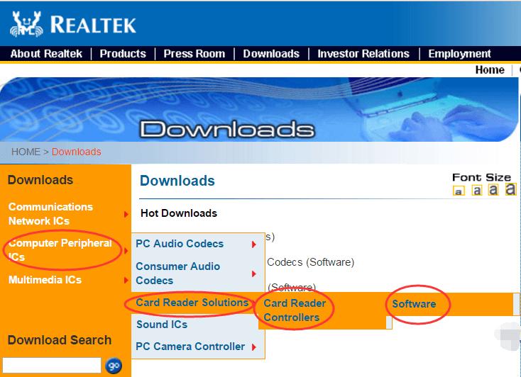 Realtek Card Reader Driver Download Easily for Windows