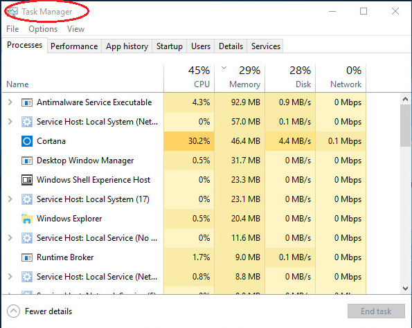 How to open task manager in windows 10 solved driver easy there are many ways to open task manager in windows 10 and this post is going to recommend you 5 quick and easy ones ccuart Gallery