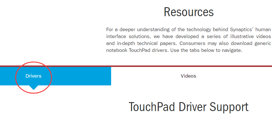 Synaptics Touchpad Driver Download & Update Easily - Driver Easy