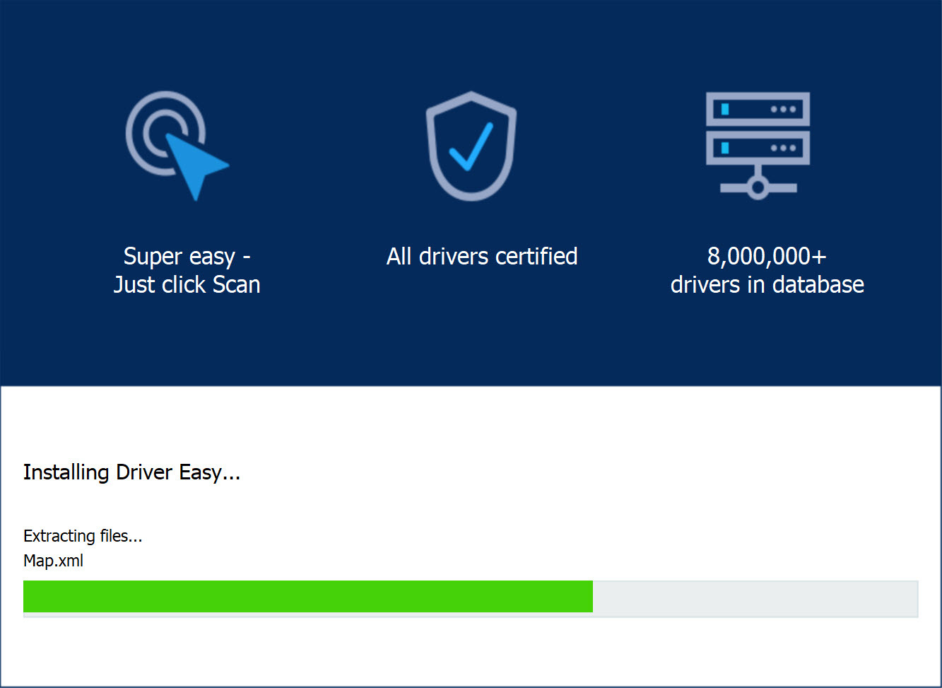 Installing Driver Easy