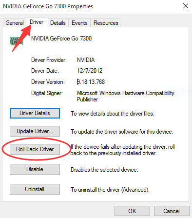 How to Rollback Nvidia Drivers in Windows 10 - Driver Easy